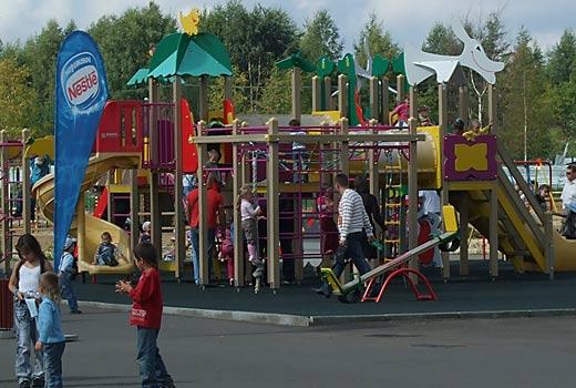 Детская площадка в зоопарке