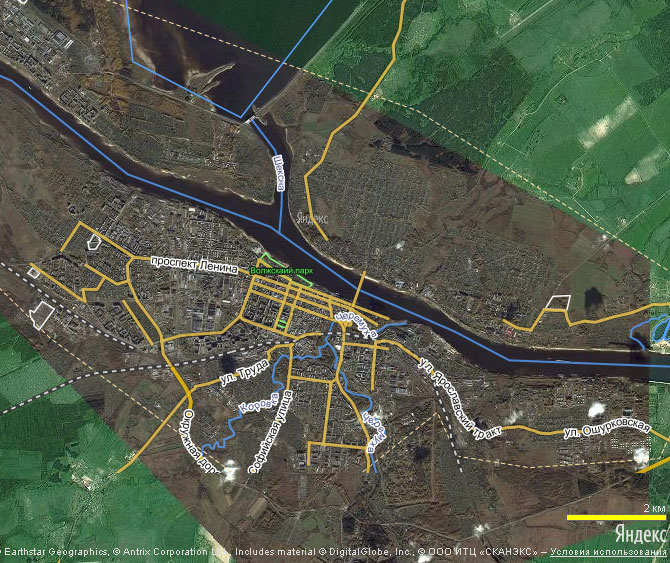 Яндекс. Народная карта Рыбинска