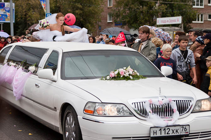 Невеста и шарик