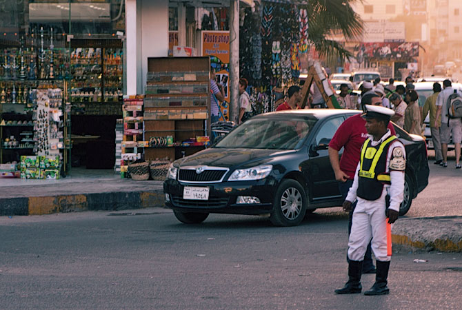 Полицейский-регулировщик